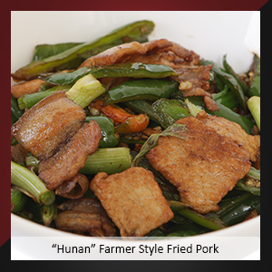 """Hunan"" Farmer Style Fried Pork"