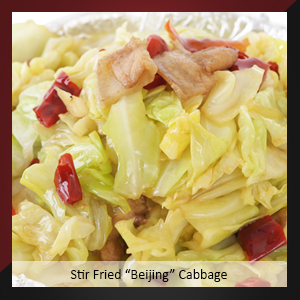"Stir Fried ""Beijing"" Cabbage"